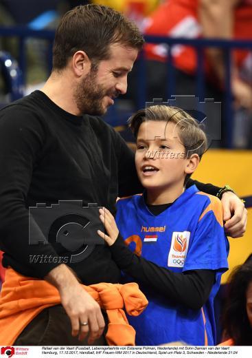 freundin van der vaart handball