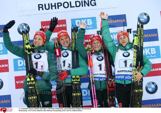 staffel frauen biathlon