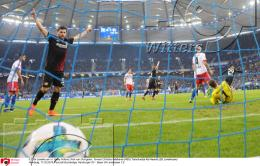 17.02.2018 | Fussball Bundesliga Hamburger SV - Bayer Leverkusen