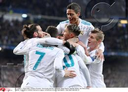 14.02.2018 | Fussball Champions League Real Madrid - Paris Saint-Germain