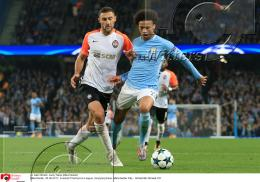 26.09.2017 | Fussball Champions League Manchester City - Schachtar