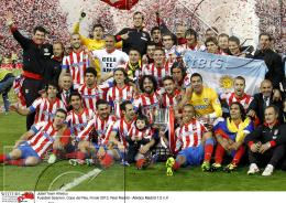 17.05.2013 | Fussball Spanien Copa del Rey Real Madrid - Atletico Madrid