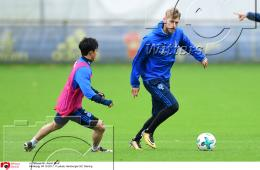 04.10.2017 | Fussball Hamburger SV Training